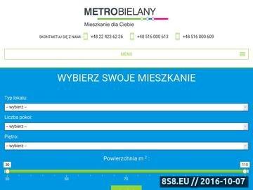 Zrzut strony Dwa pokoje Warszawa Bielany - METROBIELANY