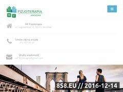 Thumbnail of MF- Fizjoterapia Rehabilitacja Wrocław Website