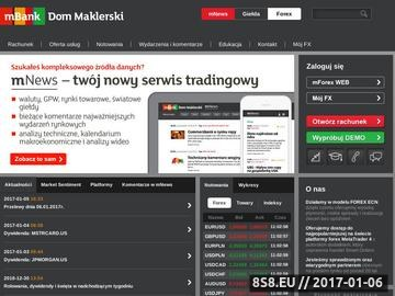 Zrzut strony Platforma Forex