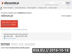 Miniaturka domeny mforum.pl