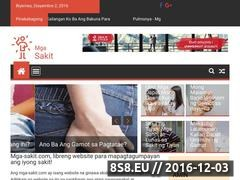 Thumbnail of Mga-Sakit.com: Health Tips Philippines Website
