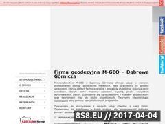 Miniaturka domeny www.mgeo.com.pl