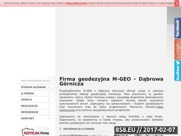 Zrzut strony M - GEO pomiary realizacyjne