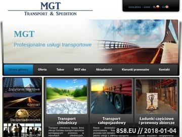 Zrzut strony Firmy transportowe Warszawa