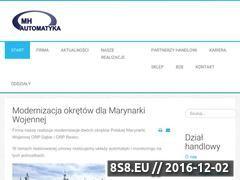 Miniaturka domeny www.mh-automatyka.com.pl