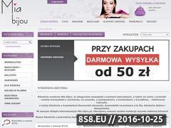 Miniaturka domeny mia-bijou.pl