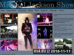 Miniaturka domeny www.michael-jackson.pl
