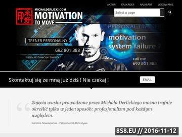 Zrzut strony Michał Derlicki Warszawa