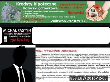 Zrzut strony Serwis niezależnego doradcy finansowego z Warszawy