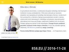 Miniaturka E-Mail Marketing (michaljaniszek.pl)