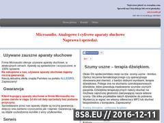 Miniaturka domeny microaudio.pl