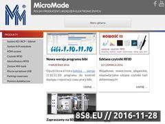 Miniaturka domeny www.micromade.pl