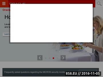 Zrzut strony MICROS oprogramowanie dla gastronomii