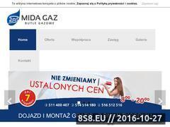 Miniaturka domeny www.mida-gaz.pl