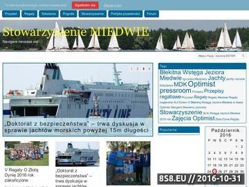 Zrzut strony Popularyzacja żeglarstwa i sportów wodnych