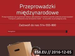 Miniaturka domeny miedzynarodoweprzeprowadzki.pl