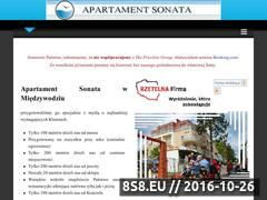 Miniaturka domeny www.miedzywodzie-sonata.pl