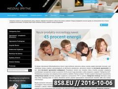 Miniaturka domeny www.mieszkajsprytnie.pl