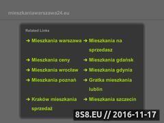 Miniaturka domeny www.mieszkaniawarszawa24.eu