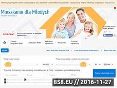 Miniaturka domeny www.mieszkanie-dla-mlodych.pl