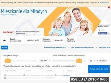 Zrzut strony Dopłaty do mieszkań