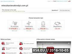 Miniaturka domeny www.mieszkanienakredyt.com.pl
