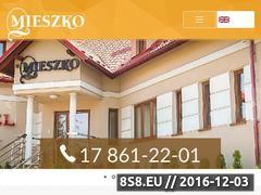Miniaturka domeny www.mieszko-hotel.pl