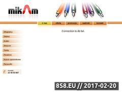 Miniaturka domeny www.mikam.pl