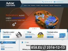 Miniaturka domeny mikmotors.pl