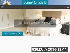 Miniaturka Mikołajki - noclegi (www.mikolajki.waw.pl)