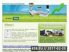 Miniaturka domeny www.mikrowag.pl