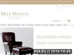 Miniaturka domeny milemaison.pl