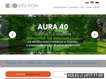 Zrzut strony MILL-YON - mieszkania i apartamenty, Warszawa - Gdańsk - Trójmiasto
