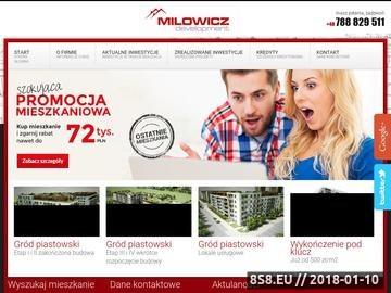 Zrzut strony Mieszkania Ursus - Milowicz Development