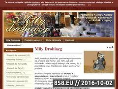Miniaturka domeny www.milydrobiazg.pl