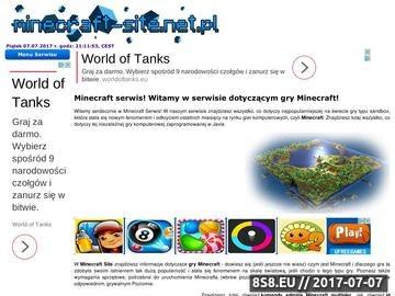 Zrzut strony Minecraft gra