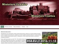 Miniaturka domeny miniatury-zamkow.pl