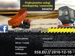 Miniaturka domeny minikoparka-krakow.com