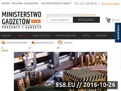 Miniaturka domeny www.ministerstwogadzetow.com