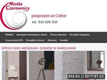 Zrzut strony Sprzątanie biur w Warszawie