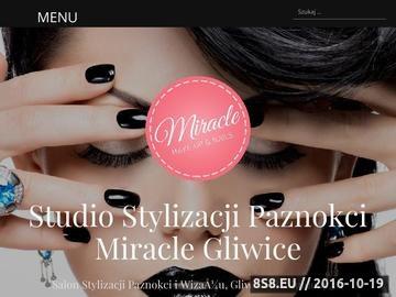 Zrzut strony Manicure, pedicure, wizaż