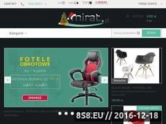 Thumbnail of Mirat.pl - fajny sklep meblowy Website