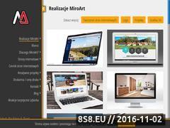 Miniaturka domeny www.miroart.pl