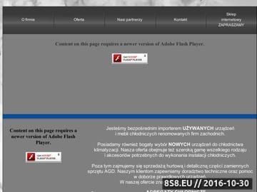 Zrzut strony Sprężarki używane i agregaty