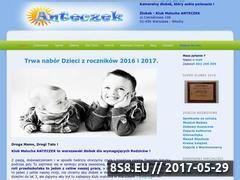 Miniaturka domeny www.misiowyogrodek.waw.pl