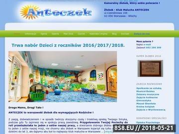 Zrzut strony Klub malucha Warszawa