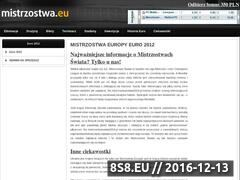 Miniaturka domeny mistrzostwa.eu