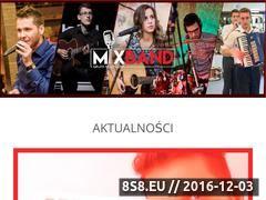 Miniaturka domeny www.mixbandlublin.pl
