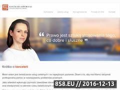 Miniaturka domeny mj-kancelaria.pl