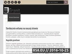 Miniaturka domeny mjgranit.pl